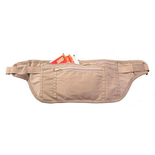 Image sur TRAVEL MONEY BELT 3301 Natural