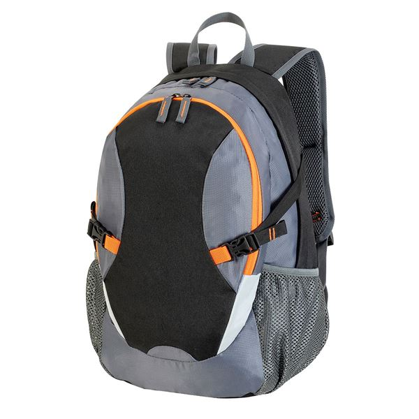 Bild von TLV BACKPACK 7688 Black/Dark Grey/Orange