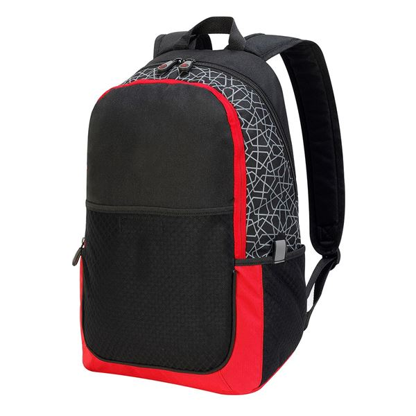 BURCHAREST BACKPACK 7689 Black/ Red