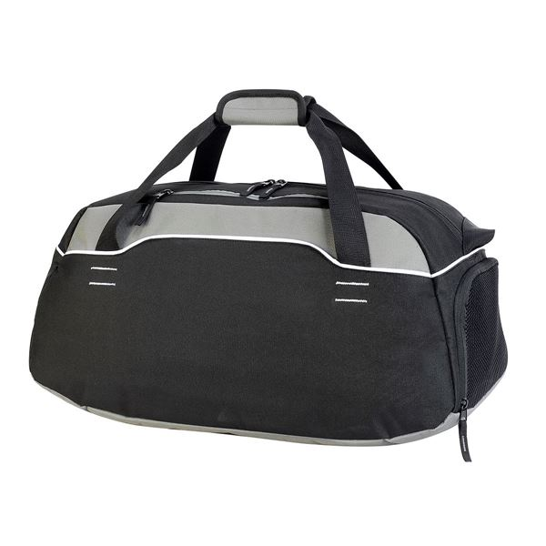Picture of 1594 SPORTS/TRAVEL HOLDALL Black/ Grey