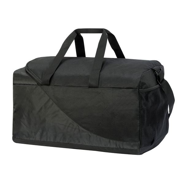 Picture of NAXOS SPORTS KIT BAG 2477 Black/Charcoal