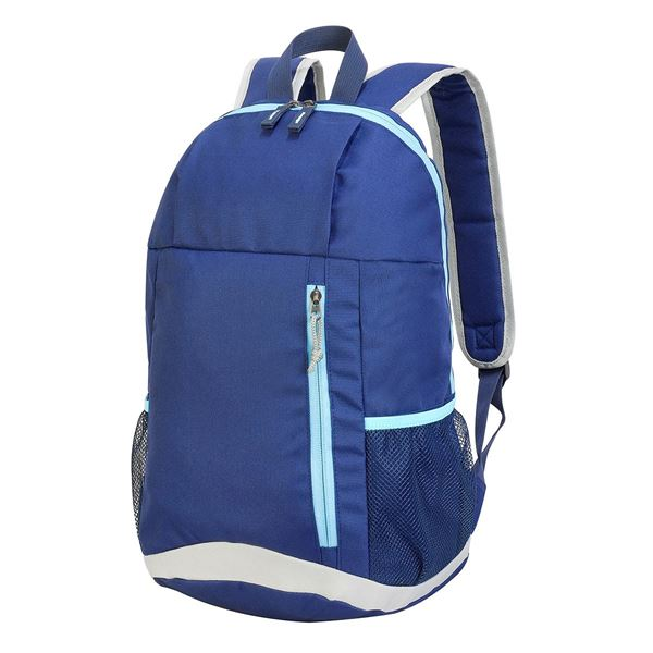 Bild von YORK BASIC BACKPACK 1232 French Navy/Sky Blue/Light Grey