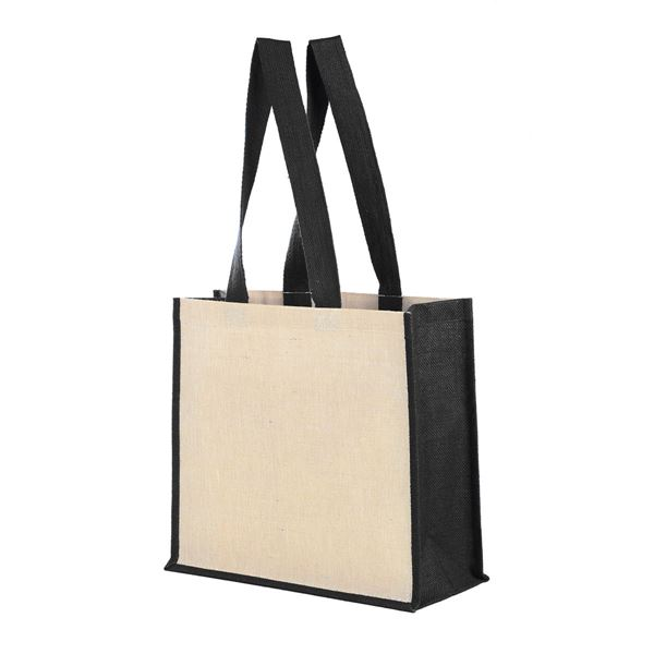 Image sur VARANASI JUTTON LEISURE BAG 1115 Natural/Black
