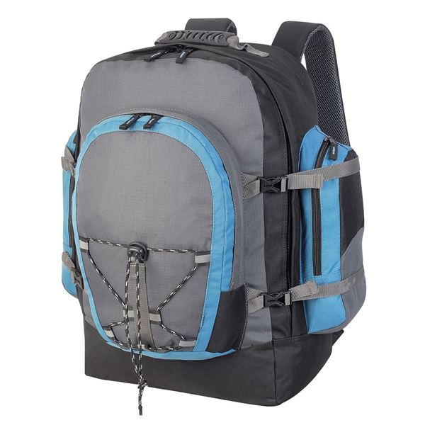 Picture of MONTE ROSA RUCKSACK 1797 Dark Grey/Black/Petrol