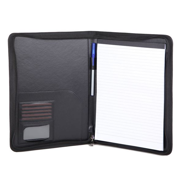 Immagine di PU A4 ZIPPED FOLDER 10.127.910 Black
