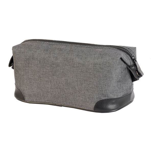 4485 MACAU TOILETRY BAG Grey melange