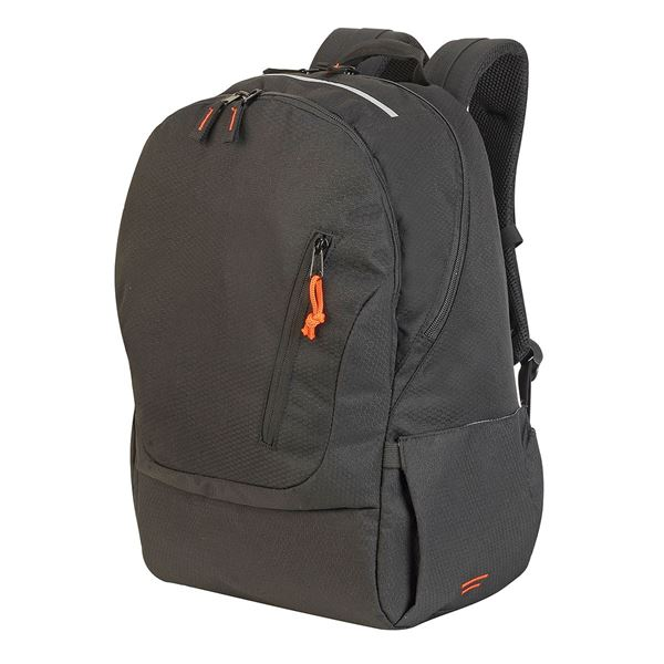 Изображение 5812 COLOGNE ABSOLUTE LAPTOP BACKPACK Black Mélange