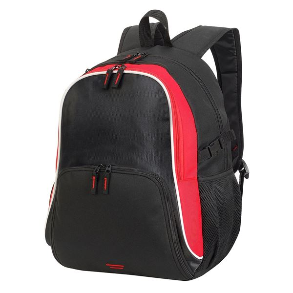 Image sur 7699 KYOTO ULTIMATE BACKPACK Noir / Rouge / Blanc