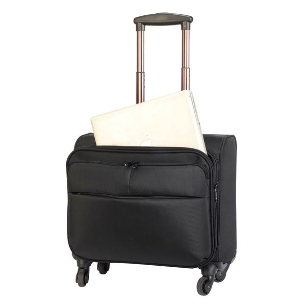 Image sur 6806 WARWICK OVERNIGHT BUSINESS TROLLEY Black