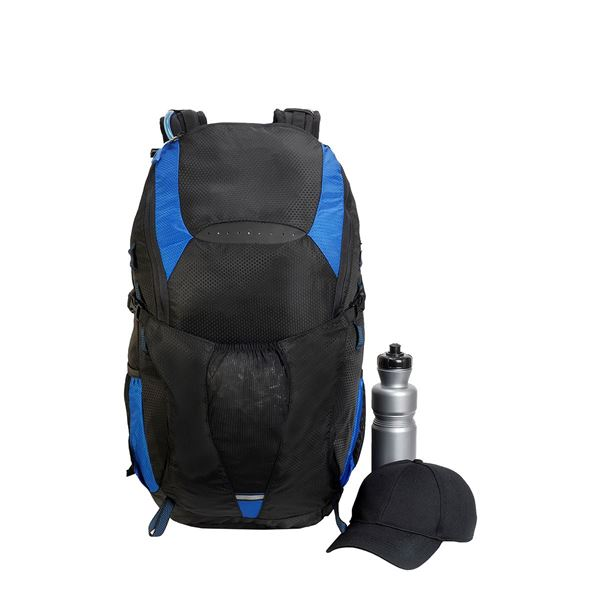 Picture of 1801 MATTERHORN 30L HIKER BACKPACK Black/ Petrol