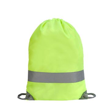 Picture of STAFFORD HI VIS DRAWSTRING BACKPACK 5892