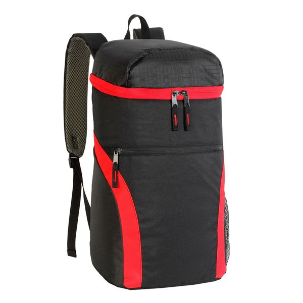 Bild von 3840 MICHELIN FOOD MARKET COOLER BACKPACK Schwarz/ Rot