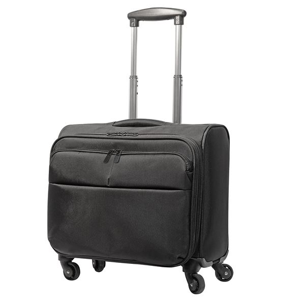 Bild von 6806 WARWICK OVERNIGHT BUSINESS TROLLEY Black