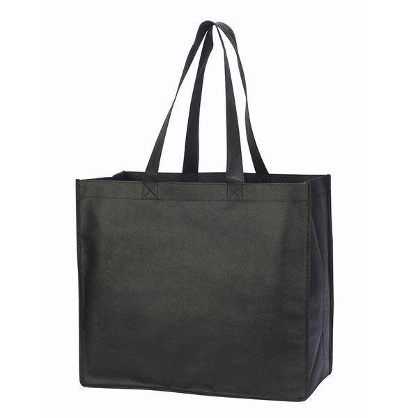 """حقيبة المتسوق """"ليون"""" أسود"""