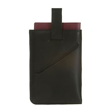 Picture of NAPPA LEATHER PASSPORT HOLDER 17.823.310