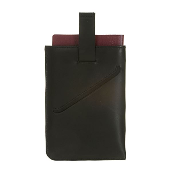 Изображение NAPPA LEATHER PASSPORT HOLDER 17.823.310 Black