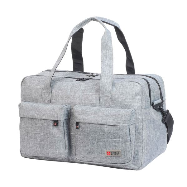Picture of 41-2486 MYKONOS SPORTS TRAVEL HOLDALL L. Grey Melange
