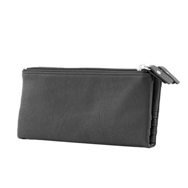 14.524.310 LADIES ECO LEATHER PURSE Black