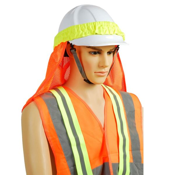 Image sur 2583 HELMET COVER Hi-Vis Orange