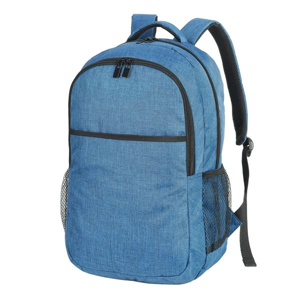 Picture of BONN LAPTOP BACKPACK 5802 Navy Melange