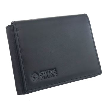 Picture of  41.13.419  CRAZY HORSE LEATHER WALLET SWISS PLANET