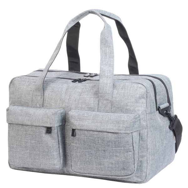 Picture of 2486 MYKONOS TRAVEL BAG Light Grey Mélange