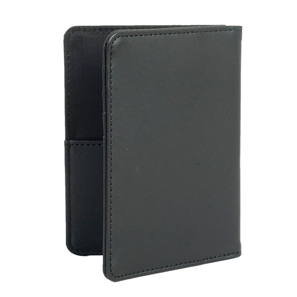 9101 PALERMO PASSPORT COVER Black
