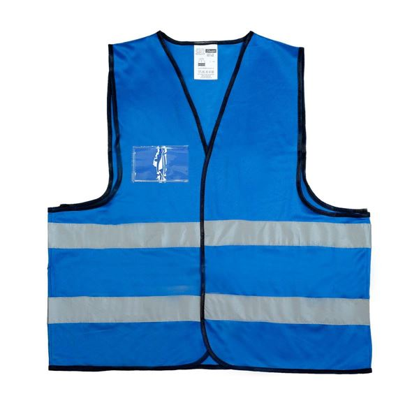 2691 SAFETY VEST  Royal Blue