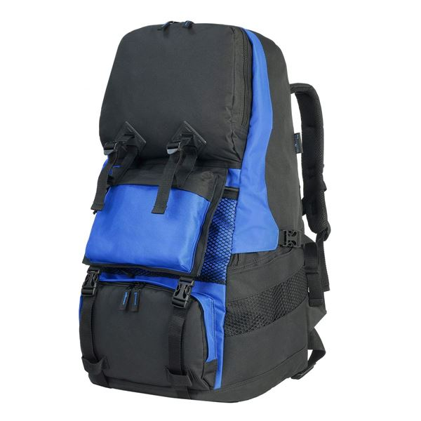Picture of 888 RUCKSACK Black/Royal