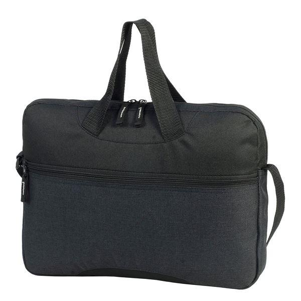 1446 AVIGNON CONFERENCE BAG Charcoal Melange / Black